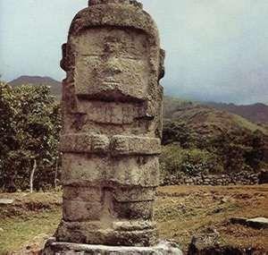 Tótem. San Agustín, ser de Colombia