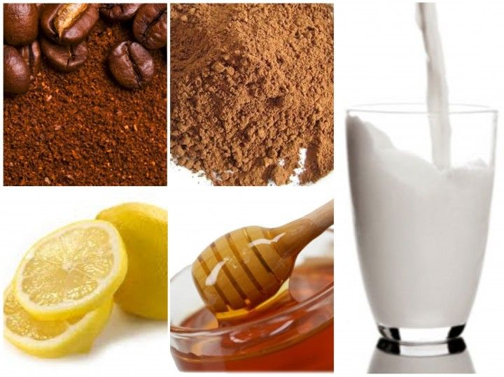 *For dark circles, mix the finely ground coffee beans with enough milk or olive oil to form a paste and apply to the under eye area once a day. Allow to dry and rinse off. The caffeine will promote healthy circulation and decrease inflammation that results in dark circles and under eye bags.*