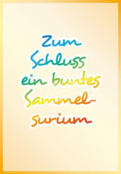 """Kindergarten Portfolio Vorlage """"Buntes Sammelsurium"""""""