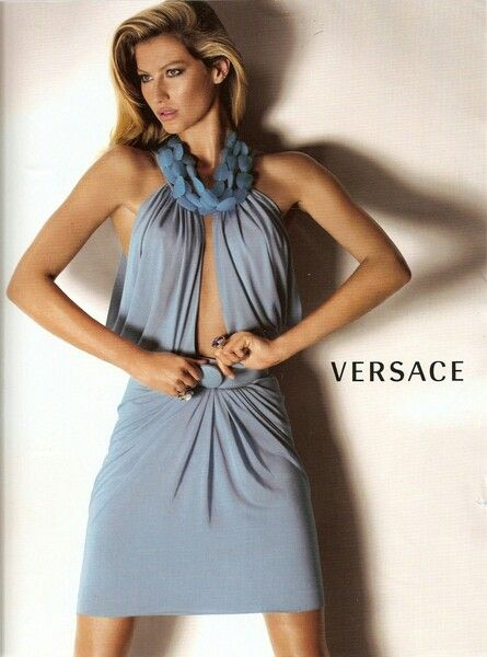 68 best Gisele Bundchen Versace images on Pinterest ...