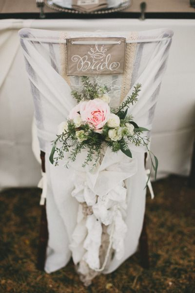 Vintage elegance bridal chair: http://www.stylemepretty.com/2014/06/20/romantic-outdoor-wedding-on-the-shores-of-maui/ | Photography: Braun - http://braun-photography.com/