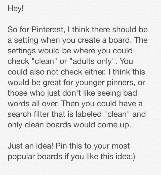 Please Repin! <3 I would love this :) Then you could always be sure that everything you saw was clean.