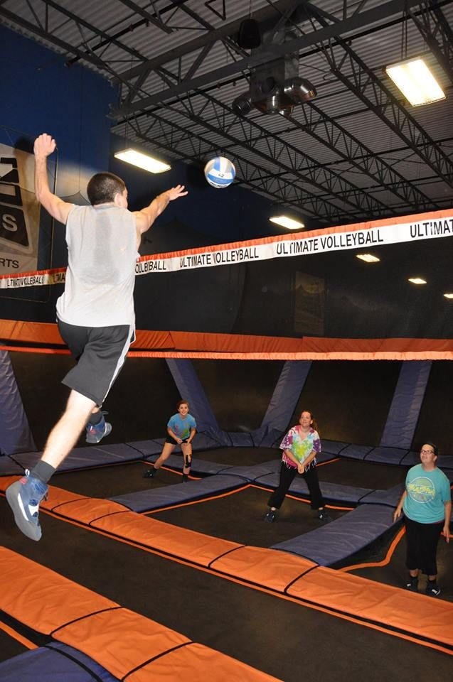 College Night, Trampoline Volleyball, and Extended Hoppy Hours! College night starts this week on Thursday! Show your student ID every Thursday for the rest of the year and get $5 off a 60 minute jump! Sky zone sports coupons http://www.pinterest.com/TakeCouponss/sky-zone-sports-coupons/