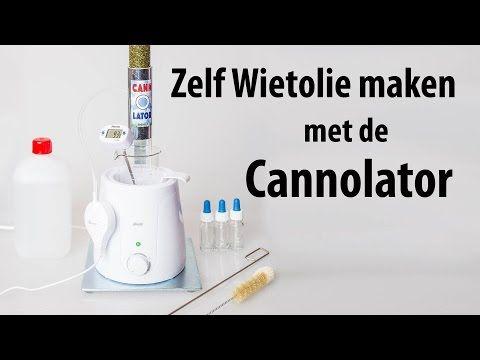 Cannolator cannabis extractor - wietolie maken - Wietolie - Cannabis olie - THC olie - Headshop - NL - Dutch-Headshop