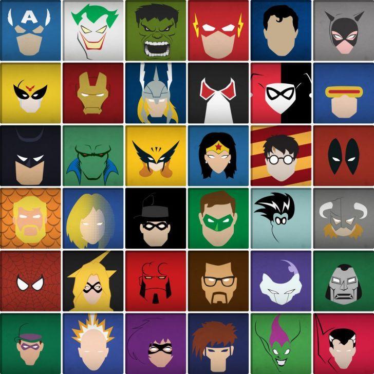 Adesivo de Parede - Azulejos super heróis 443