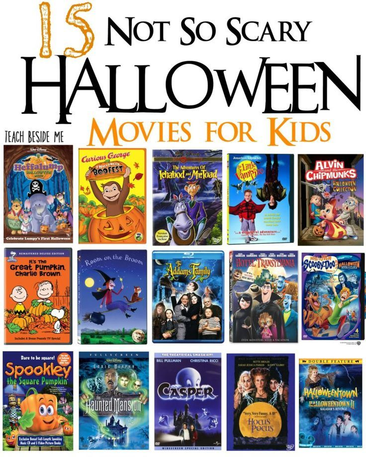 15 Not So Scary Halloween Movies for Kids