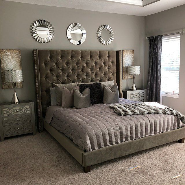 Extra Wide King Diamond Tufted Headboard And Bed Frame In White