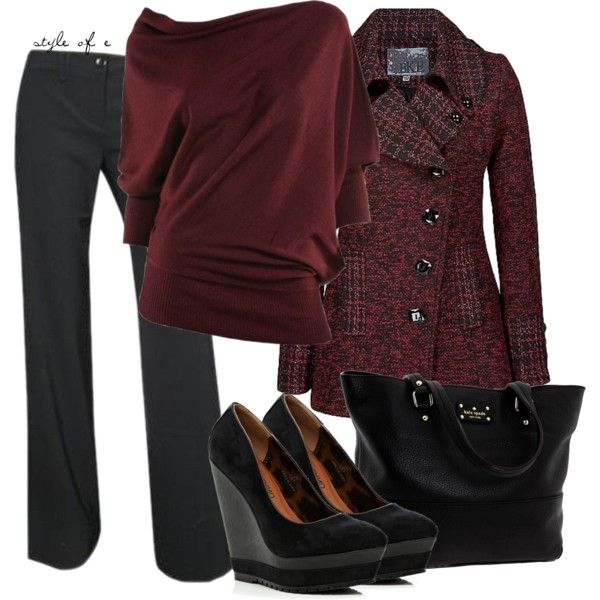 Casual Outfit: Shoes, Black Outfits, Color, Fashionista Trends, Winter Outfits, Work Outfits, Casual Outfits, Business Casual, Coats