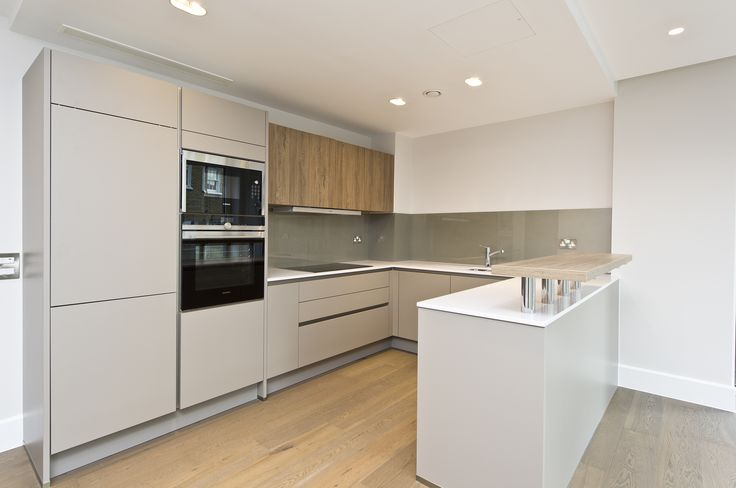 Kitchen design at 73 Great Peter Street in Westminster.