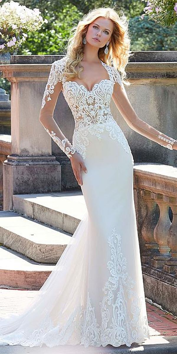 [248.50]  Elegant Tulle Sweetheart Neckline Wedding Dresses with Beaded Lace Appliques