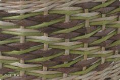 Мастер-класс Поделка изделие Плетение МК узора в 4 шага Бумага газетная Трубочки бумажные фото 1