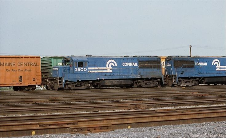 Pin by Thomas Scott on CONRAIL POWER The Early Years