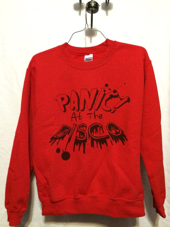 Hey, I found this really awesome Etsy listing at https://www.etsy.com/listing/166904401/panic-at-the-disco-crewneck
