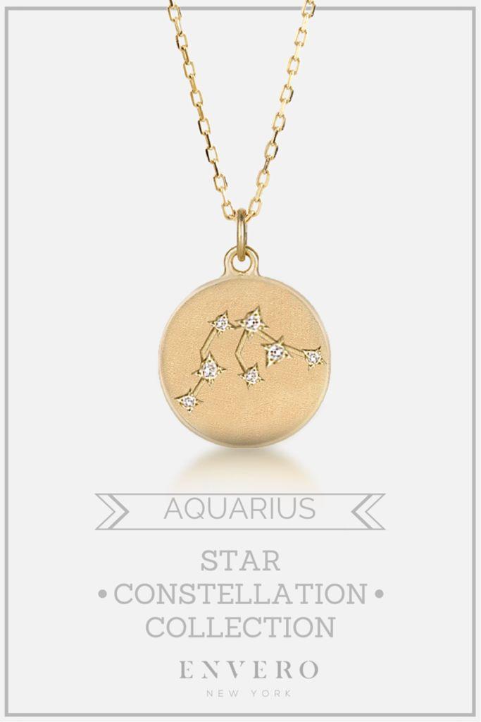Aquarius Constellation Necklace – Envero Jewelry