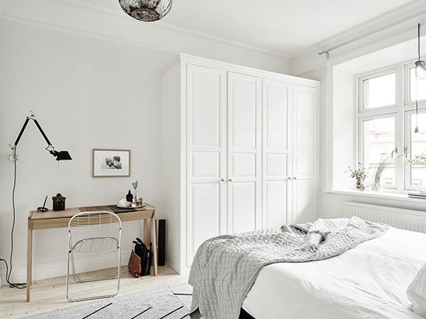 scandinavian apartment with neutral shades