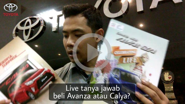Malam Friendz, yg mau konsultasi pemesanan Calya atau Avanza merapat besok ya, live tanya jawab jam 22.00 s/d 22.30 wib,see you friendz  http://www.promosi-toyota.com/2016/08/live-tanya-jawab-avanza-atau-calya_29.html?m=1