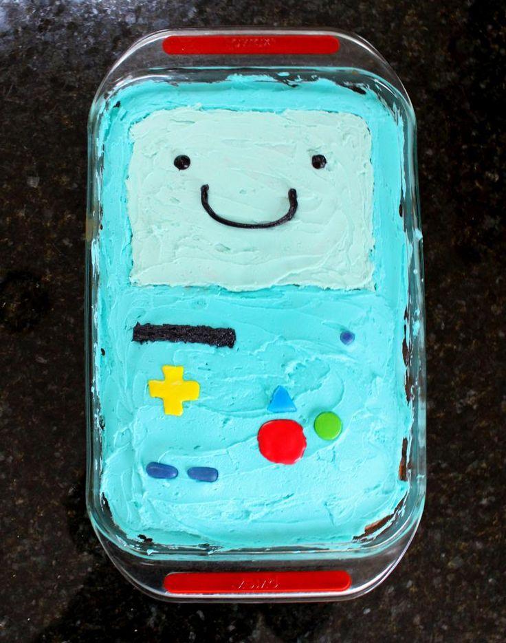 swing the day away: Adventure Time BMO Cake