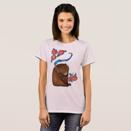 Free Hugs Bear Whimsical Woodland Cute Art T-Shirt - animal gift ideas animals and pets diy customize