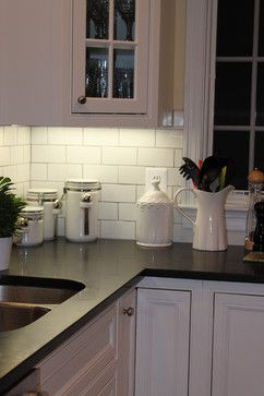 honed black granite design ideas pictures remodel and decor page 5 sink - Stein Backsplash Ideen Fr Die Kche
