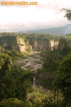 The Sianok Canyon in Bukittinggi, Sumatra, Indonesia