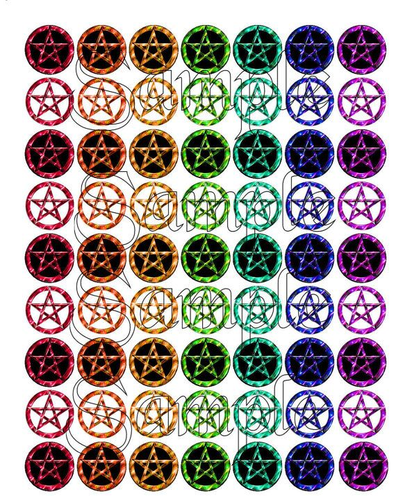 Digital Download  Wiccan 1 Pagan Witch by DesignsByDownload, $1.50