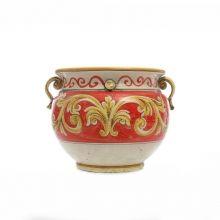 Portavaso ceramica artistica Caltagirone