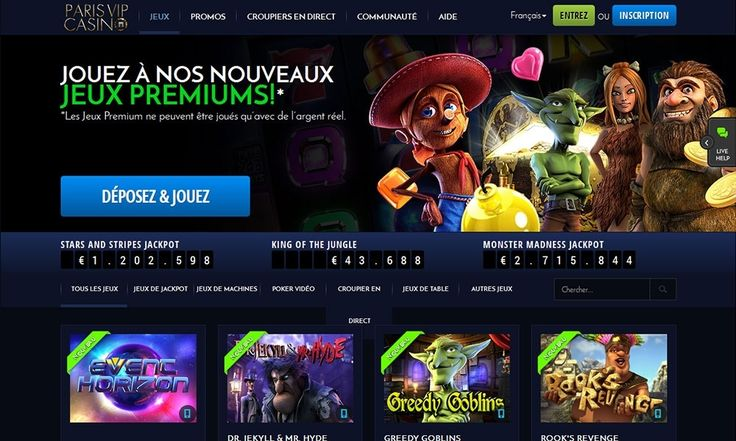 Paris VIP Casino Mobile