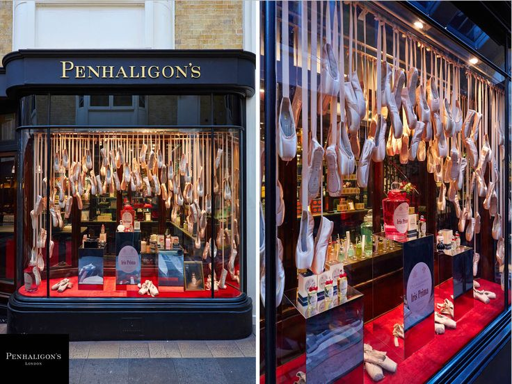 Penhaligon's Iris Prima Windows & In-Store by Prop Studios:  www.propstudios.co.uk
