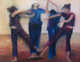 http://nameliarte.blogspot.gr/  Και ο χορός καλά κρατεί (λαδοπαστέλ)