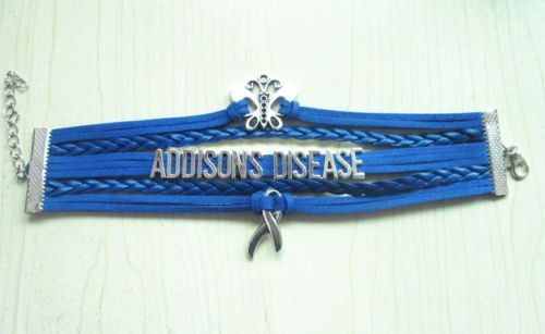Addison S Disease Butterfly Hope Blue Awareness Ribbon