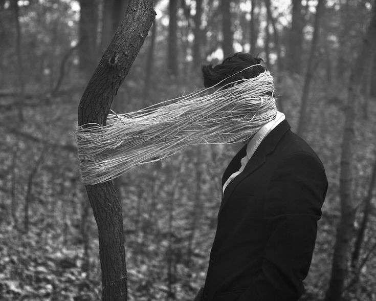 Selfportraits By Ben Zank Portraits Photography And Surrealism - Surreal faceless portraits will haunt nightmares