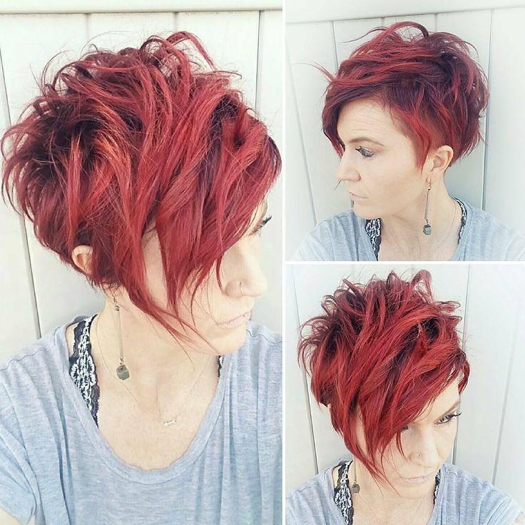 10 sehr stilvolle kurze Frisur für Frauen