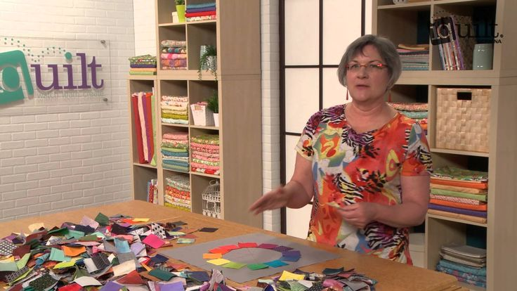 Make a Quilter's Color Wheel with Katie Pasquini Masopust - YouTube