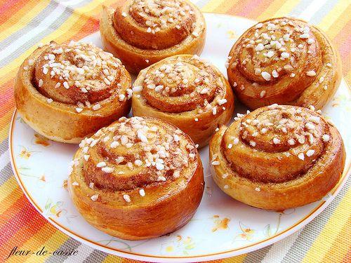 шведские булочки с корицей 2