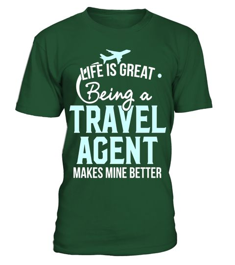 """# Travel Agent T-Shirt - Life is great being an Agent .  Special Offer, not available in shops      Comes in a variety of styles and colours      Buy yours now before it is too late!      Secured payment via Visa / Mastercard / Amex / PayPal      How to place an order            Choose the model from the drop-down menu      Click on """"Buy it now""""      Choose the size and the quantity      Add your delivery address and bank details      And that's it!      Tags: Funny Travel Agency T-Shirt…"""