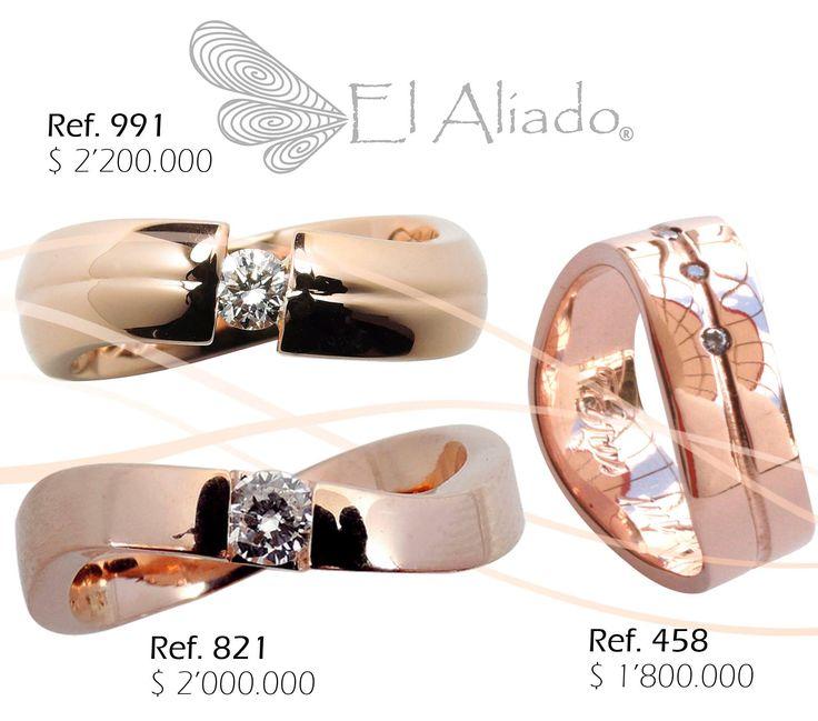 Anillos INFINITO oro rosado con diamantes.#elaliadojoyas #anillosdecompromiso #engagementring #alianzas #ororosado #anillosdeboda info@elaliadojoyas.com, ☎️Whatsapp: (+57) 3105753129 - (+57) 3008899928 Bogotá, Colombia.✈️ Hacemos envíos dentro y fuera del país Recibimos tarjetas de crédito y débito.