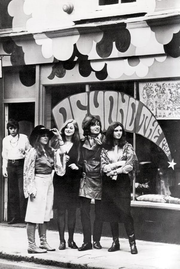 Beyond The Pale boutique, Carnaby Street, London 1968 #tower..mar16