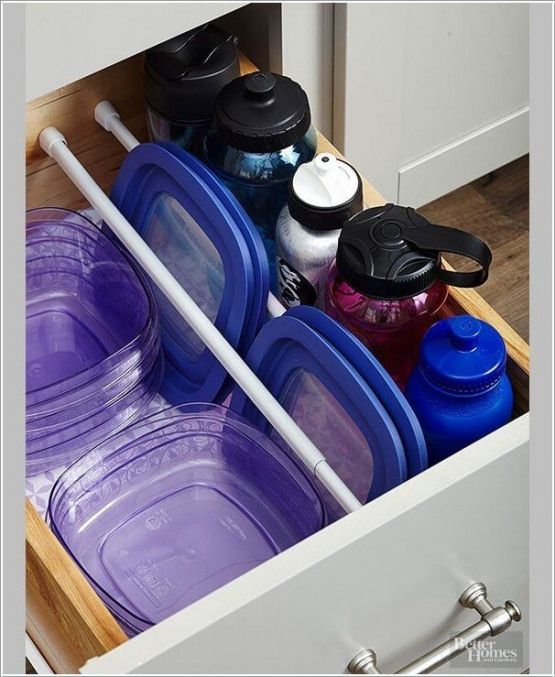 easy tupperware storage ideas organization plastic on garage organization ideas that will save you space keeping things simple id=19712