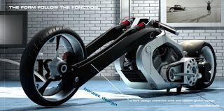 Jean Baptiste Robilliard design works: Cstom bike concept/personal project