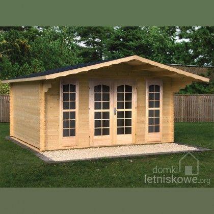 Drewniany domek ogrodowy (Wooden house) Camilla A 10,8 m2