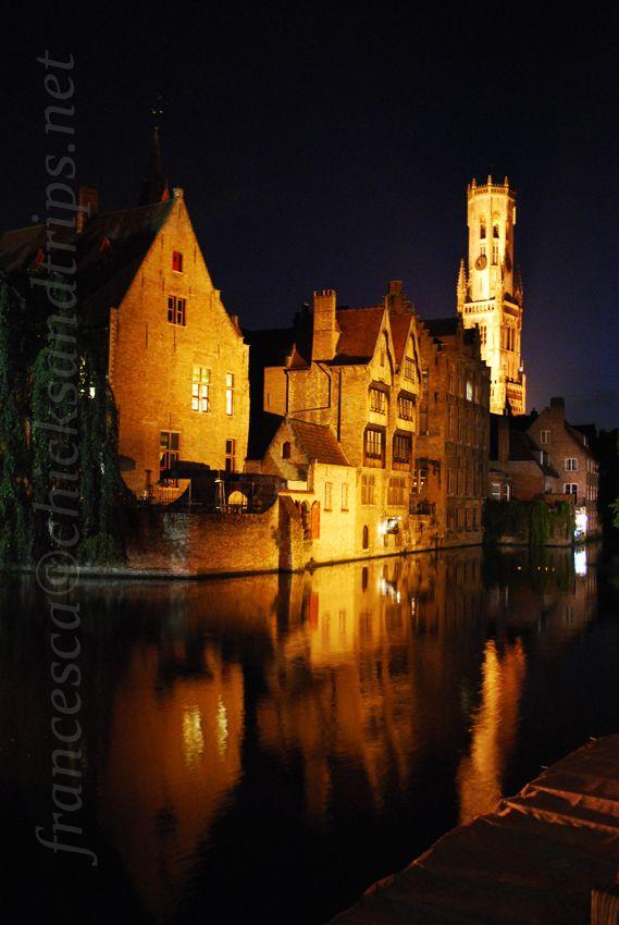 Bruges di notte