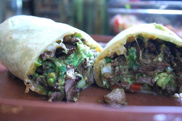 Burrito, Carne Asada Burrito, San Diego Taco Shop Burrito, Steak Burrito, Mexican Steak Burrito