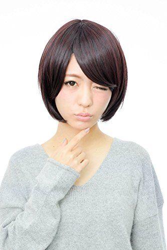 【ウィッグ】Shiny前髪斜め/さらさらボブフルウィッグ4色ウイッグ wig - http://ladysfashion.click/items/116428