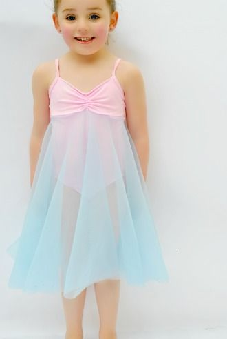 Felicity Ballet Dress Leotard dance costume in girls sizes 2-14 | Sewing Pattern | YouCanMakeThis.com