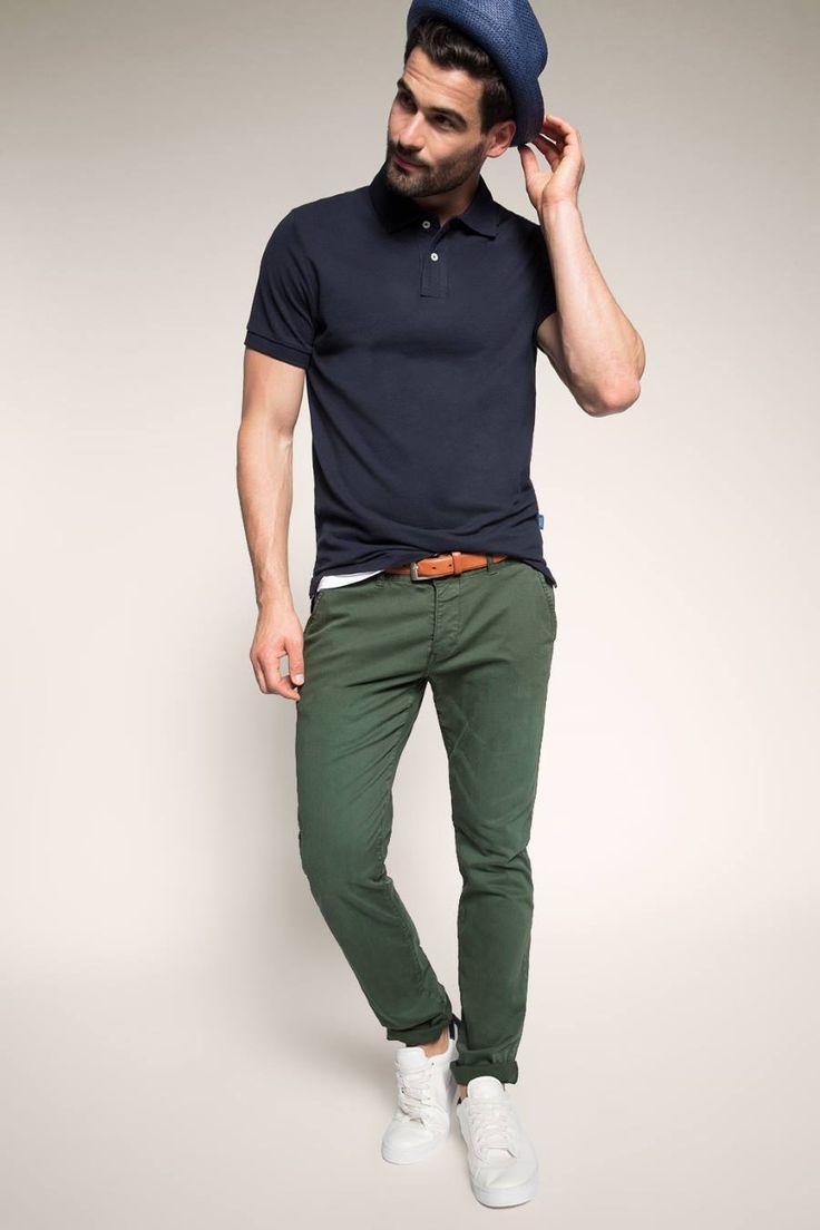 ZEB e-shop groene broek 065CC2B005