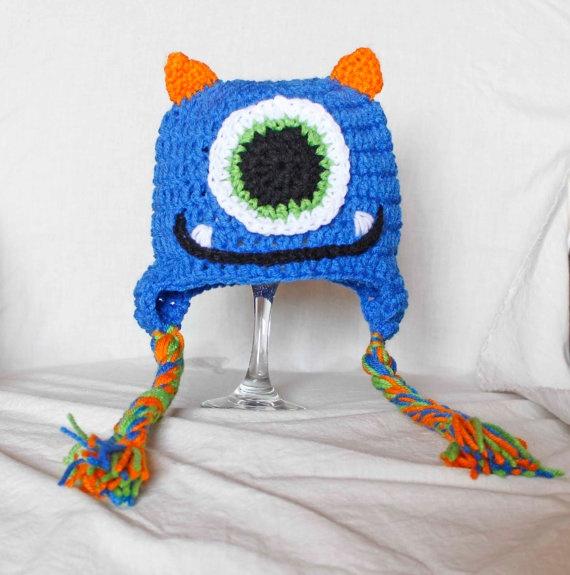 Crochet Monster Hat: Crochet Baby Boys, Little Monsters Crafts, Monsters Dreams, Pinterest Crochet, Crochet Hats, Crochet Monsters Hats, Baby Boys Hats, Kids Pinterest, Crochet Knits