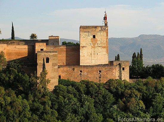 Torre de la Vela en la Alhambra