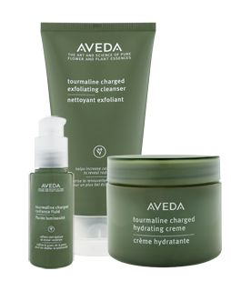 Tourmaline Charged Skin Care Set - infuse skin with radiance Find out more at Aveda.com