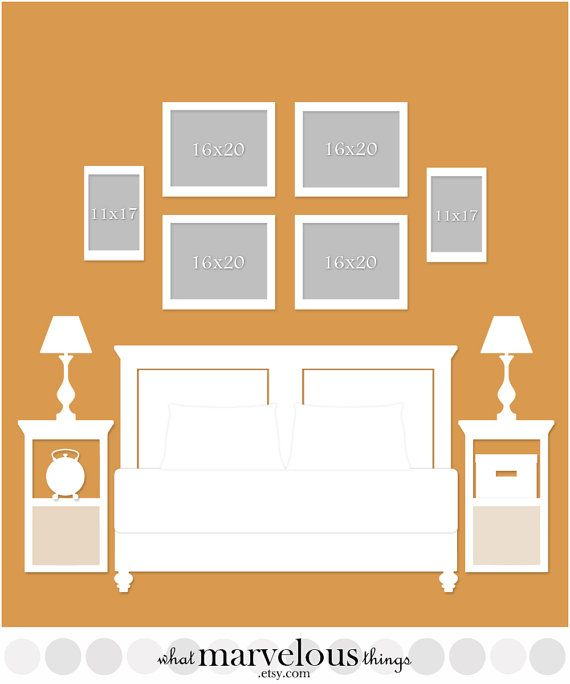 Best 25 photo wall displays ideas on pinterest for Wall templates for hanging pictures