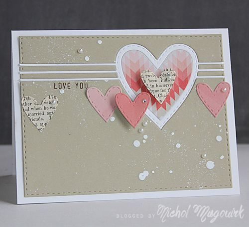 Such a Sweet card by Nichol Magouirk using the February 2015 card kit by Simon Says Stamp.